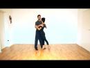 Tango tutorial - Juliana Santiago - 2018 Nr. 9 Поворот со сменой направления на базовом шаге