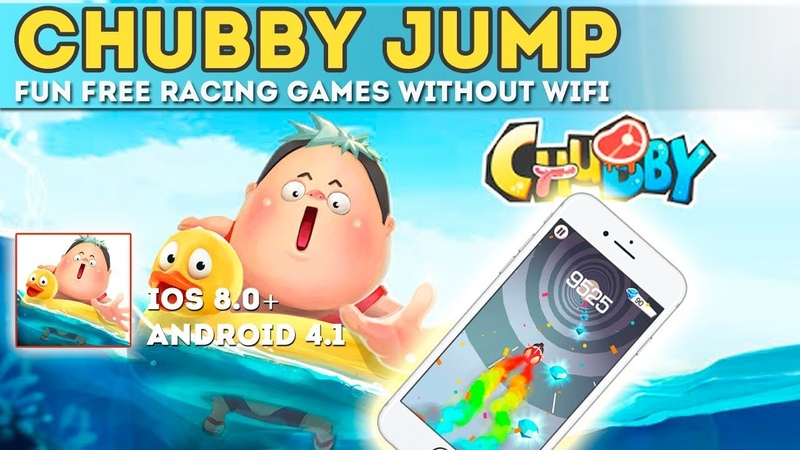 Chubby Jump - Gameplay iOS. Fun Free Racing Games Without Wifi. Jump - Offline Racing Games