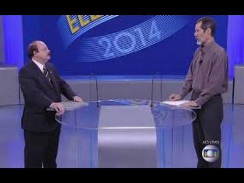 Levy Fidelix X Eduardo Jorge Debate REDE GLOBO 02/10/2014