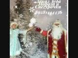 Новогоднее поздравление от Деда Мороза и Снегурочки