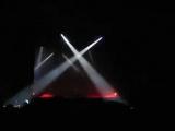 Световое шоу во время премьеры Remember That Night Дэвида Гилмора