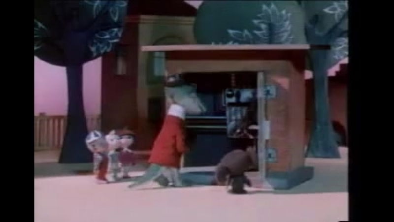 Отрывок из Мультфильма про Чебурашку