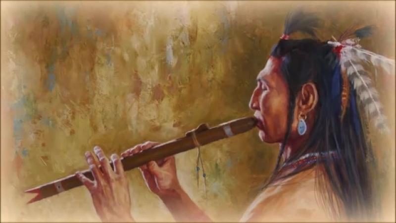 Флейта североамериканских индейцев и звуки леса ⁄ Relaxing Native Flute Birds Singing
