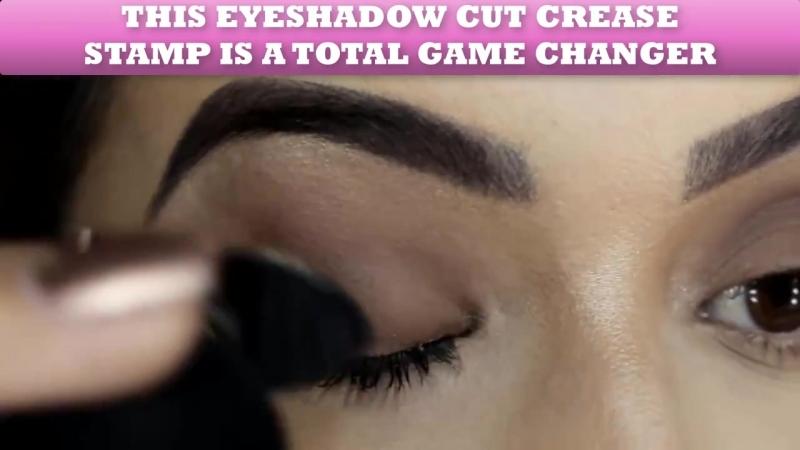 Штампы для глаз Crease Stamp для создания сложных макияжей!