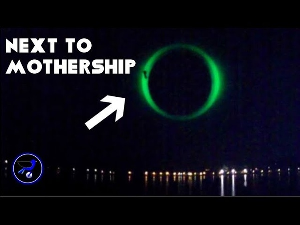 Shocking! A Giant green Portal appeared in the sky over France ! Oct 14,2018