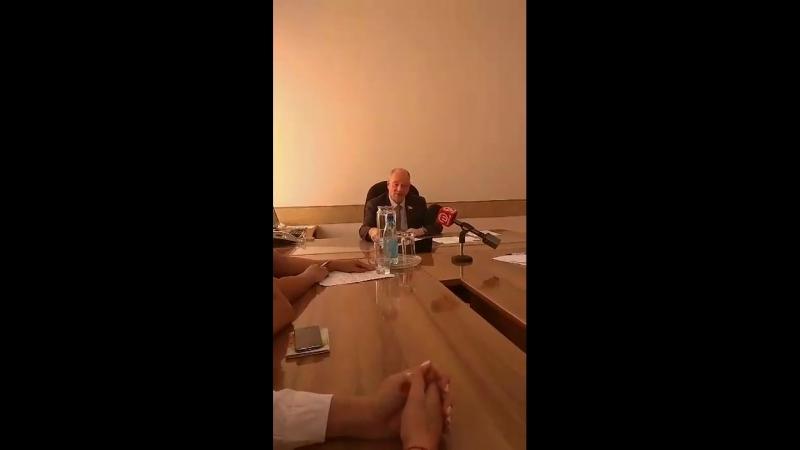 Встреча 08.08.2018 с мэром г.Улан-Удэ Голковым А.М.