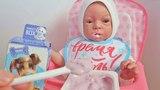 Куклы Пупсики на канале Зырики ТВ. Реборн кушает творожок открывает сюрприз Свит Бокс. Играем вместе