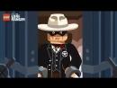 Лего Одинокий Рейнджер Ограбление Банка - aneka.scriptscraft 360p
