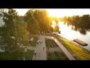 Вологда пролеты над исторической частью города