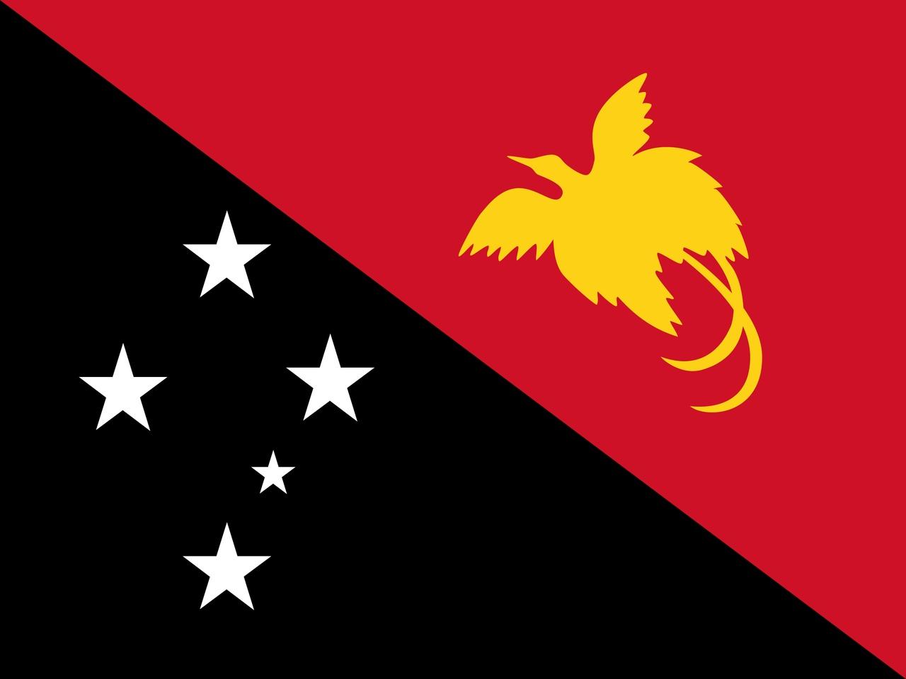 Флаг Папуа-Новая Гвинея