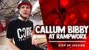CALLUM BIBBY RIDES RAMPWORX! insidebmx