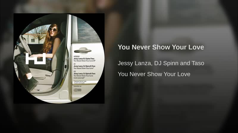Jessy Lanza - You Never Show Your Love