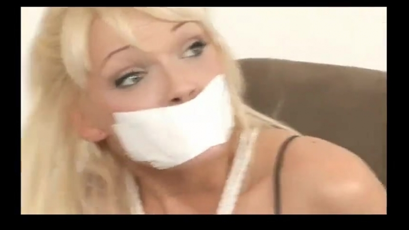BoundHub - Tape gagged and tickled