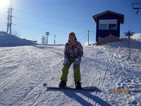 На сноуборде по вятским горам