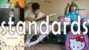 Hello Kitty Drum Kits CHON Sleepy Tea Played on ONE Guitar! - Introducing: Standards