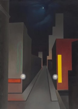 Dark Ambient- Dreamstate Logic [George Ault Paintings]