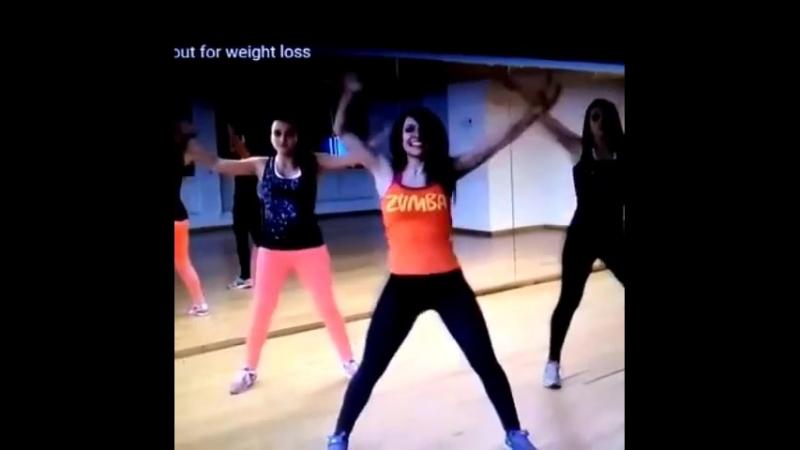 Zumba dance in Nidan yog