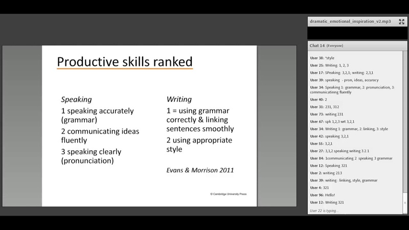 EAP and Language: What do learners want? Craig Thaine webinar vk.com/topnotchenglish