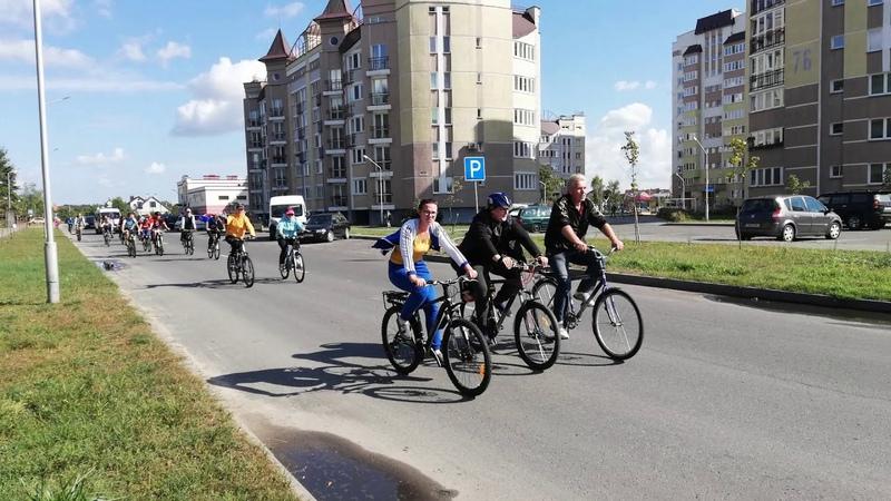 Закрытие велосезона 2018 в Пинске.