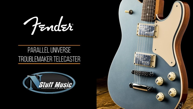 Fender Limited Edition Parallel Universe Troublemaker Telecaster - Guitar Review