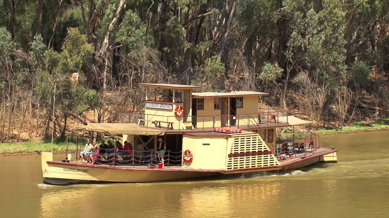 Paddle Boats Murray River Paddle Steamers The Alexander Arbuthnot