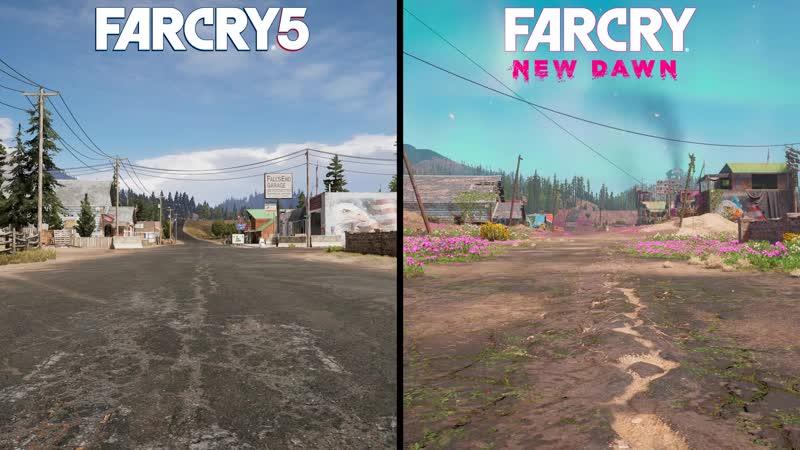 Узнай, как в Far Cry New Dawn апокалипсис изменил локации Far Cry 5