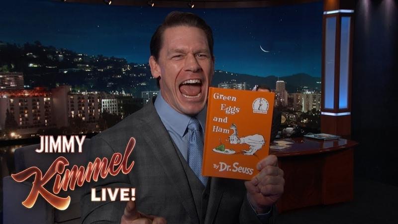 John Cena Has a Message for Children's Book Authors
