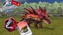 Jurassic world the game Новый супер гибрид Моностеготопс 40 LVL