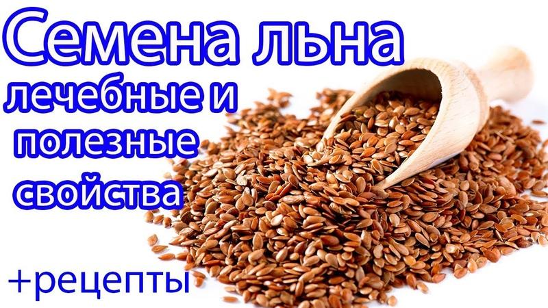 Семена льна. Лечебные и полезные свойства РЕЦЕПТЫ.