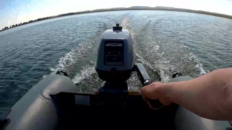 Лодка Sibriver Таймыр 320К мотор Sea Pro 3 л с