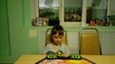 Балицкий Никита в 5 лет собирает кубик 2х2х2