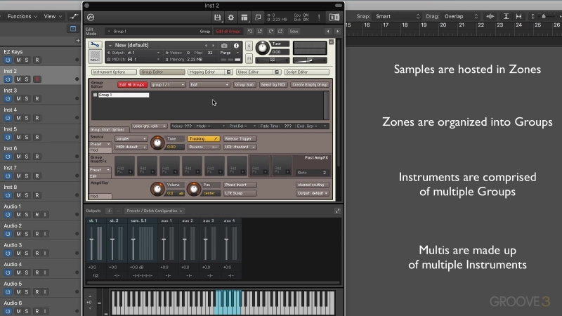 Groove3 - KONTAKT 5 Working with the Factory Library