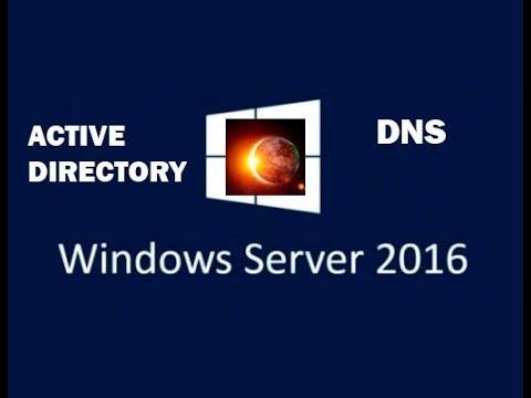 Установка и настройка DNS и Active Directory - Windows Server 2016