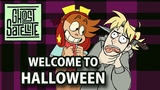 Ghost Animate WELCOME TO HALLOWEEN - Ghost Satellite