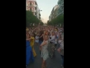 Флэш-моб фламенко в Эсихе