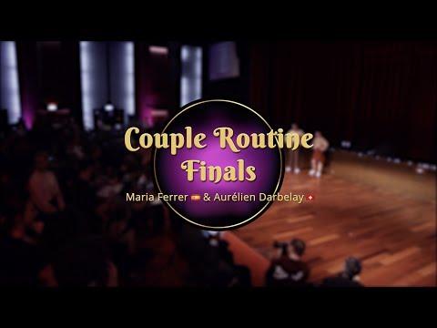 Savoy Cup 2018 - Couple Routine Finals - Maria Ferrer Aurelien Darbelay