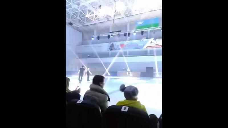 классныевстречи с олимпийским чемпионами Татьяной Волосожар и Максимом Траньковым