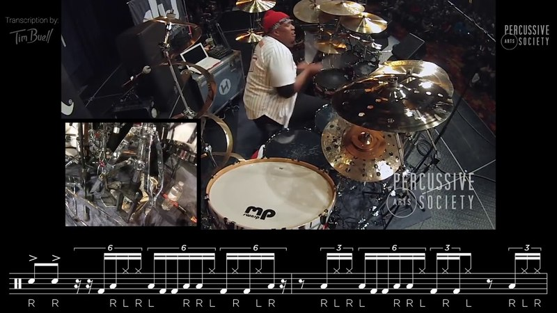 Eric Moore II - PASIC17 (Opening Drum Solo) w TRANSCRIPTION