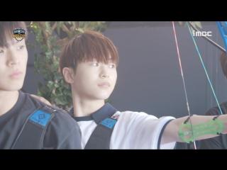"""《메이킹》 """"목표는 금메달입니다!"""" 온앤오프 양궁 연습 현장 (#온앤오프 #이션 #라운 #효진)"""