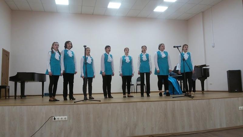 Отчетный концерт хорового отделения и ансамбля музыкьльных инструментов ДШИ г Дивногорска