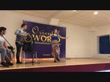 Olga Mishina and Sherif. Tabla solo