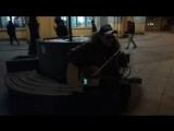 29.03.18 20ч6мин. Работаем на Новокузнецкой с Колей. Первая песня - 18 берёз Чижа (одна из моих любимых).