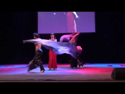Трайбл Студия Atisha, Тribal Fusion, Фестиваль M O Con 2018 Открытие 2 блока