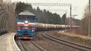 Тепловоз 2ТЭ116-966 и Штадлерский дизель-поезд 2314 / 2TE116-966 and Stadler 2314 DMU