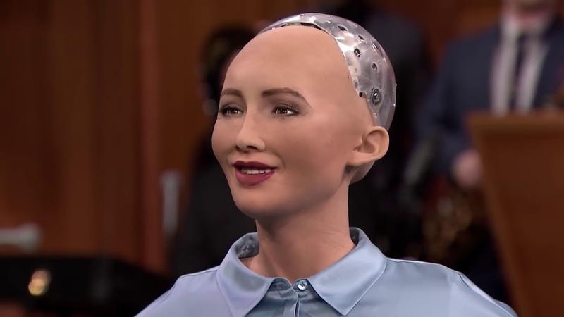 Робот София от Hanson Robotics