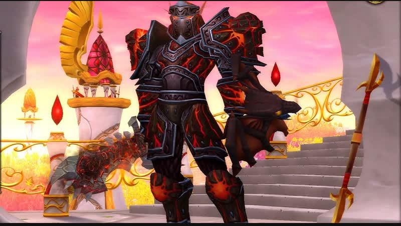 World of Warcraft Battle for Azeroth - очередной кач - Паладин танк Орда