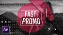 4 Fast Intro Promo Techniques After Effects Motion Graphics Tutorial