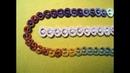 Вязание ажурного ленточного кружева крючком. МК. Knitting ribbon lace