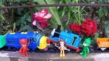 Thomas and Friends Toy Trains Robot Trains For Kids Toy Trains Pj Masks Toys Paint Video for Kids