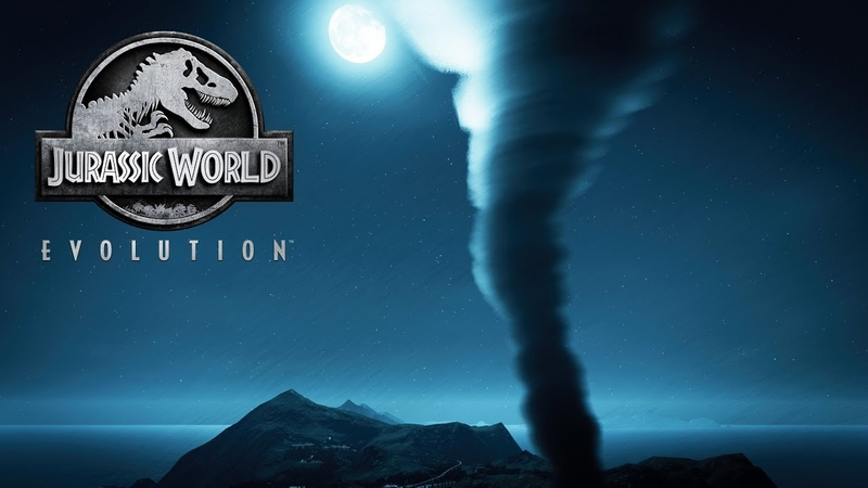 Jurassic World Evolution - Безжалостный торнадо! 26